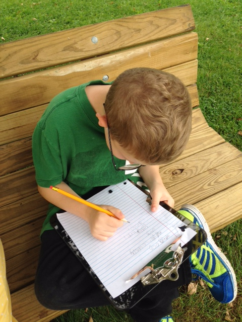 Writing away… and students love writing letters to their pen-pals